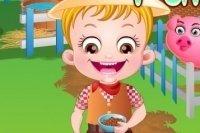 Baby Hazel na Farmie