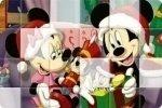 Bożonarodzeniowe Puzzle Disneya