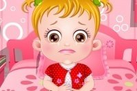 Bóle brzucha u Baby Hazel