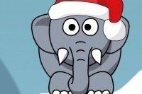 Chrapiący Słoń na Boże Narodzenie