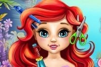 Fryzury Małej Ariel