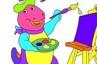 Kolorowanka z Dinozaurem 2