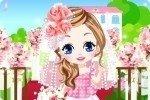 Kwiecista dziewczynka