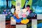 Puzzle z Myszką Miki