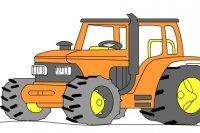 Rysowanie traktora