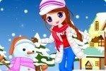 Sniegowa Dziewczynka