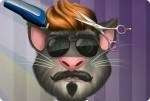 Talking Tom u Fryzjera