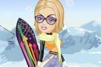 Ubieranie Snowboardzistki
