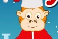 Świąteczna Małpka