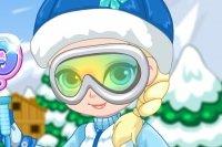 Wyjazd na narty małej Elzy