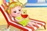 Wyjście na plażę Baby Hazel