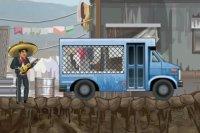 Kierowca autobusu z więźniami